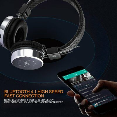 XK-B06 Bluetooth Headset Headphone With Glaring Light Support TF Card FM Radio A