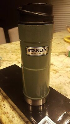 Stanley Coffee Thermos Vacuum Mug Bottle Stainless Steel Hammerton 16OZ