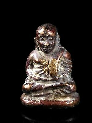 thai buddha amulet old Statue antique LP Ngern maestro POWERFUL
