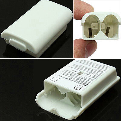 For Xbox 360 Wireless Controller AA Battery Pack Back Case Cover Holder Shell ++