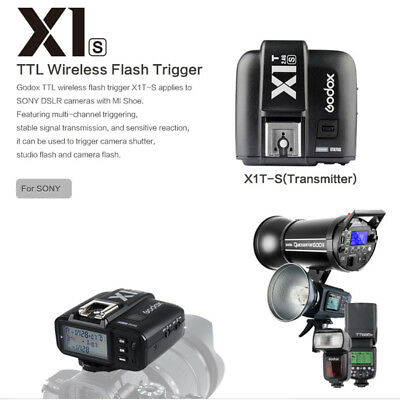 Godox X1T-S X1TS TTL Wireless Flash Single Trigger Transmitter For Sony A77II