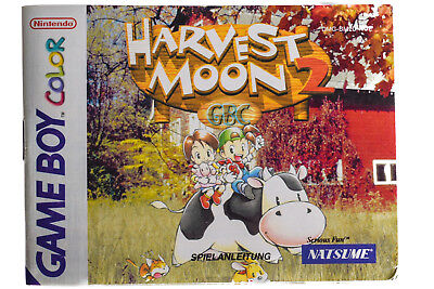 Game Boy Color Anleitung Harvest Moon 2 Sehr Guter Zustand!