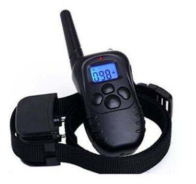 Dog Training Collar Rechargeable And Rainproof 330yd Remote Dog Shock Collar