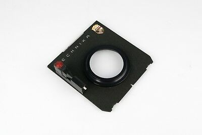 Linhof Technika Lens Board - Compur 2 Hole & Copal 1 Adapter Platine 4x5 TOP