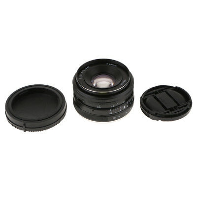 35mm F1.7 Large Aperture Manual Focus Lens for Sony E Mount Mirrorless APS-C