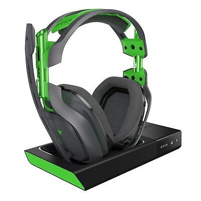 NEW ASTRO Gaming A50 Wireless Dolby Gaming Headset - Xbox one/PC Black Green Fas
