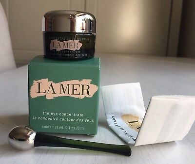 La Mer The Eye Concentrate Deluxe Size 3ml New Boxed & Silver Wand