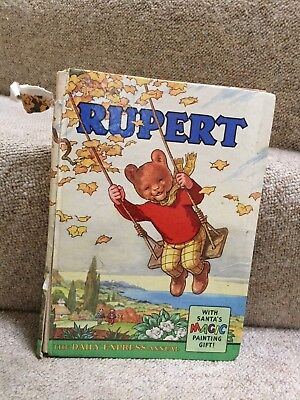 Rupert Bear Annual 1961 - low starting price & no reserve