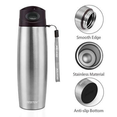 Vacuum Travel Mug Flask Unbreakable Stainless Steel Coffee Bottle Thermos 17 Oz