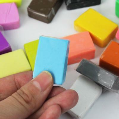 32 Bread dough blocks FIMO SOFT in various color colorful creative shaping unit