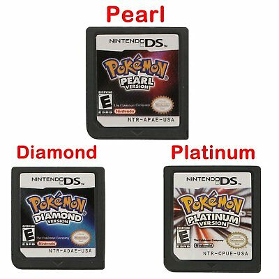 POKEMON Platin Pearl Diamond Version Spielkarte für NDS Nintendo 3DS DSI LITE