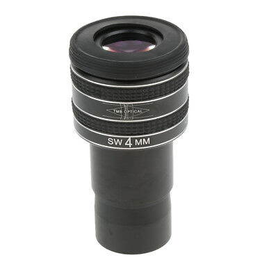 """Telescope Eyepiece Lens 1.25"""" Wide Angle Connect Camera T Ring Adapter 4mm"""