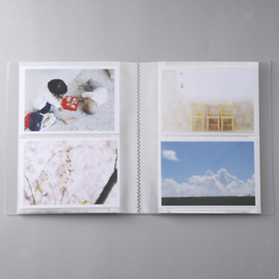 "Baby Photo Album Pocket 80Sheet 5x3.5"" for Boy Girl Neutral Sex Gift White"