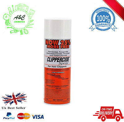 Clippercide Spray - For Hair Clippers 5 in 1 Formula (15 Oz.) 25% extra free