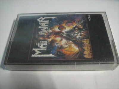 Manowar – Hell On Stage Live - Vol.2 TAPE/Cassette SEALED Russian