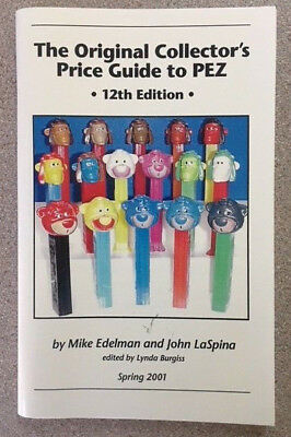 OLD PEZ PRICE GUIDE (choose from 12 listed)