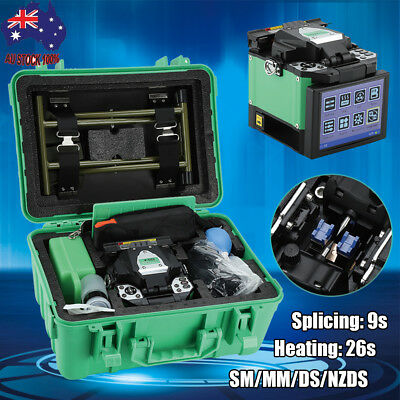 "5000 A-80S Automatic Optical FTTH Fiber Fusion Splicer Night Operation 5"" LCD AU"