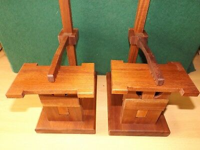 Buy 2 for £65  Heavy duty clock test stand large Fusse/wall/ Westminster/ French