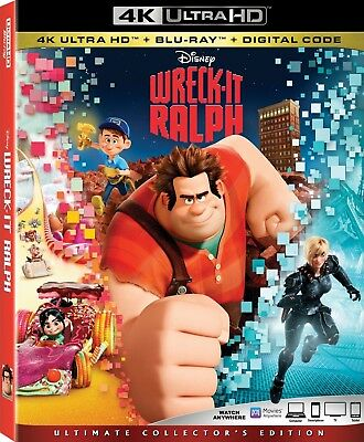Wreck-It Ralph (4K Ultra HD)(UHD)(Atmos)