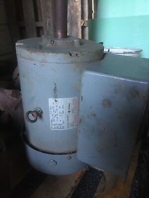Ge Phase 1 Motor Serial No. Zny12 Model 5Kc21588111 Hp 7.5 230 Volts 3500 Rpm