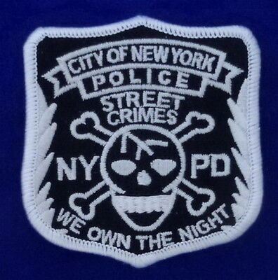 NYPD Anti Street Crime Patch