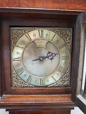 A fine Georgian single handed striking Longcase clock by John Godden of Malling