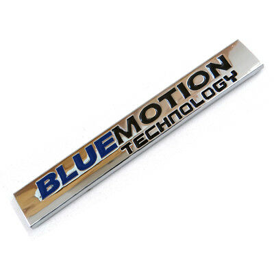 Bluemotion Boot Badge 3D Chrome Sticker Vw Golf Tdi Tiguan Passat Polo Scirocco