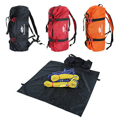 Rock Climbing Rope Bag Equipment Gear Backpack Cord Sling