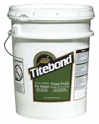 Titebond Tan 5 gal. Wood Glue, 24 hr. Curing Time, 1 EA 5 gal. Wood Glue 5177