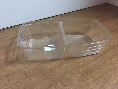 Longaberger Divided PROTECTOR for retired Biscuit or Small Loaf - New, #40193