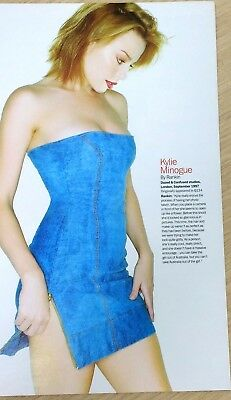 KYLIE MINOGUE - Rare Picture Cutting / Poster 1997