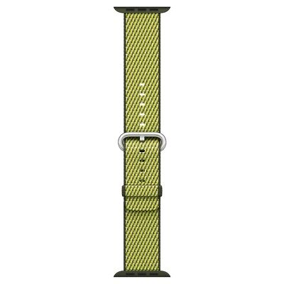 Apple MQVF2AM/A - Check Woven Nylon for Apple Watch 38mm - Dark Olive