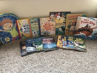 USBORNE Books and More Book Lot! Coding, Comics, Bear Grylls, Hey jack,And More!
