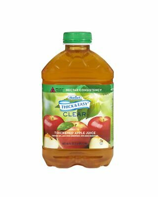Hhl-Thick & Easy Clear Thickened Apple Juice Nectar Consistency 46oz (PACK OF 6)