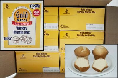 Gold Medal General Mills Dry Variety Muffin Mix Case 5lbs (PACK OF 6)