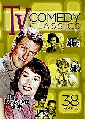 New 3Dvd Set - Television Classics Vol 1 - Dick Van Dyke + Lucy Show + Betty Whi