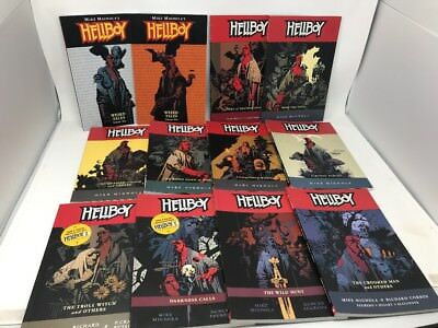 Lot 12 Hellboy Seed of destruct - The Wild Hunt 1-10 Graphic Novels Mike Mignola