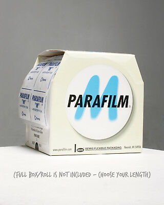 PARAFILM - Choose Length: M Laboratory Film Tape Grafting Sealing Floral Nursery
