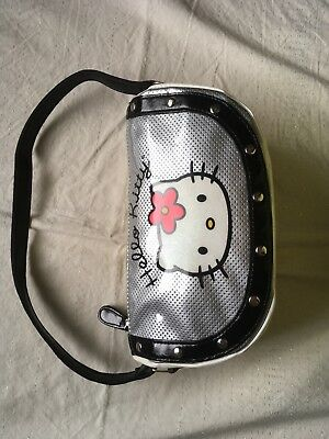 Little White And Black Hello Kitty Purse