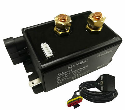 Battery Isolator Separator 12V 140A Vehicle Automotive Battery Management Kit