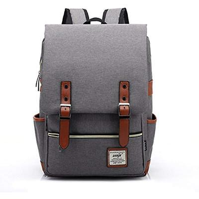 Slim Laptop Backpack Elegant Vintage Casual Daypacks Lightweight fit for School