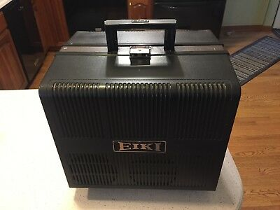 Vintage Eiki NT-0 NT0 Portable 16mm Film Projector - Working/Tested With Film!