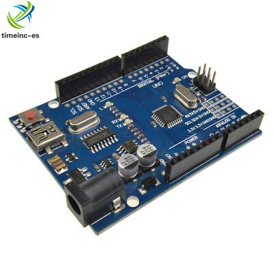 UNO R3 ATMEGA328P-16AU CH340G Mini USB Development Board Compatible to Arduino S