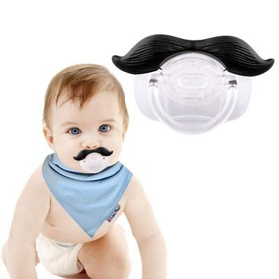 Funny Baby Pacifier Dummy Nipple Teethers  Toddler Mustache Pacifier Infant