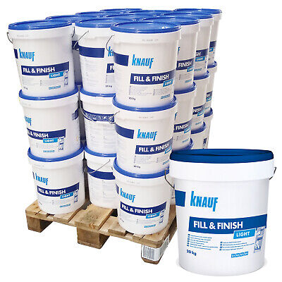 33x KNAUF Sheetrock Fill & Finish Light Füllmasse Feinspachtelmasse Spchatel