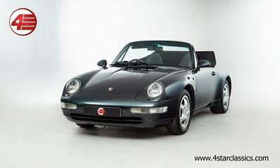 FOR SALE: Porsche 911 993 Carrera Cabriolet C2 Tiptronic 3.6 1995 /// 66k Miles