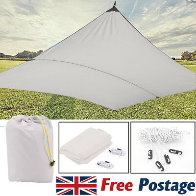 3x4M Over Shade Sail Water Resistant Sun Canopy Patio Awning Garden 98% UV Block