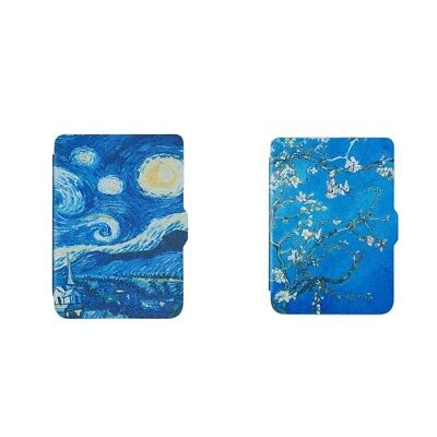 2 Pack Leather Smart Cover Soft Silicone Back Case For Kobo Clara HD 6inch