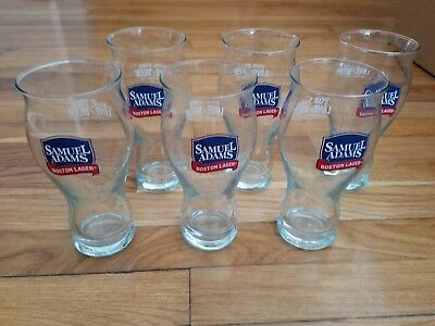 Samuel Adams Boston Lager 16 Oz. Glass (Set of 6) For The Love Of Beer