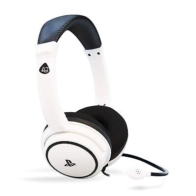 Official Licensed Sony PS4 PRO4-40 Stereo Gaming Wired Headset Headphones & Mic